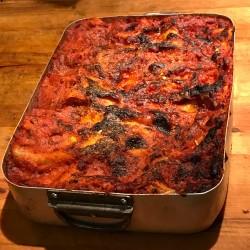 Lasagna romana (rossa)